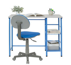 Calico Designs - Study Zone II Student Desk and Task Chair 2 Piece Set - Blue