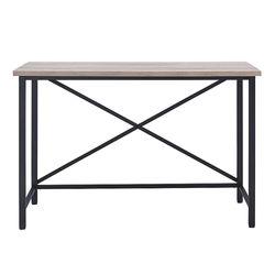 Camden&Wells - Martina Black and Gray Oak Desk - Black/Gray Oak