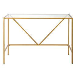 Camden&Wells - Draper Writing Desk - Brass