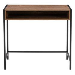 CorLiving Auston Wood Grain Desk - Brown