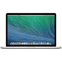 "Apple MacBook Pro 15.4"" Intel Core i7, 8GB RAM - 256GB SSD (ME293LL/A) Late 2013 (Certified Refurbished) - Silver"