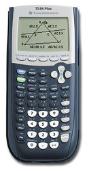 Texas Instruments - TI-84 Plus Graphing Calculator - Blue
