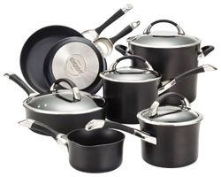 Circulon - Symmetry 11-Piece Cookware Set - Black