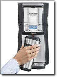 Hamilton Beach - BrewStation Summit Ultra 12-Cup Coffee Maker - Black/Stainless-Steel