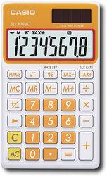 Casio - Portable Calculator - Carrot Orange