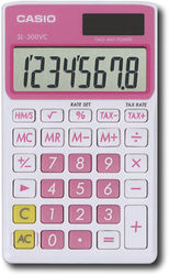 Casio - Handy Calculator - Pink
