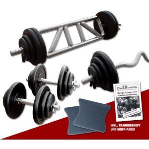 Megafitness Shop Guss - Mega Bizeps-Trizeps-Set - 77 kg