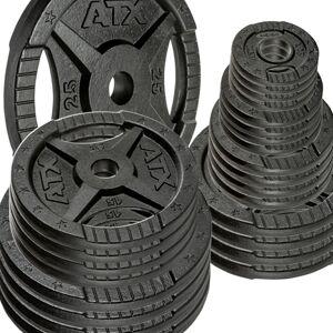 ATX Vorteilspaket! 100 kg 30 mm ATX® 2-Grip Plates - Sortierung frei wählbar