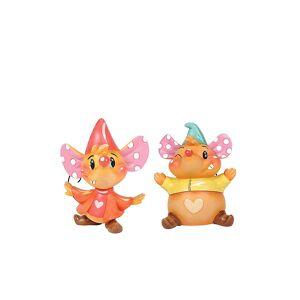 ENESCO Miss Mindy Jaq and Gus Gus Figurine 6003770