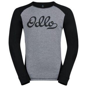 Odlo Set WARM ORIGINALS, male, grey melange - black, XXL