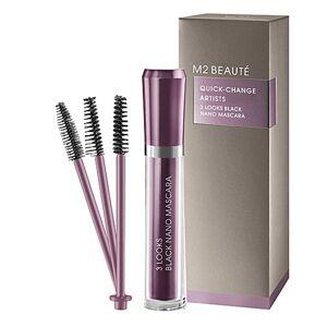 M2 Beauté 3 Looks Black Nano Mascara 6ml