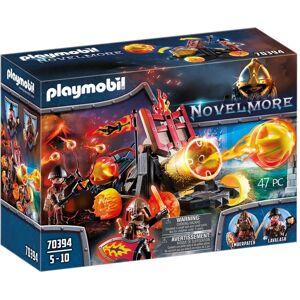 Playmobil Spielfigur »PLAYMOBIL Novelmore 70394 Burnham Raiders Lavabombarde, Für Kinder von 4-10 Jahren«, (70394)