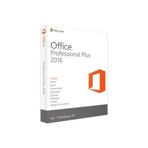 Microsoft Office 2016 Professional Plus - Produktschlüssel - Vollversion - Sofort-Download