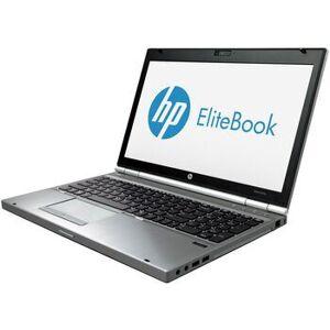 "HP Wie neu: HP EliteBook 8570p i5-3210M 15.6"" 8 GB 256 GB SSD Win 10 Pro DE"