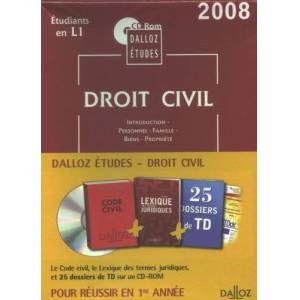 Dalloz - Droit civil : CD-ROM