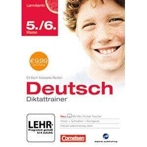 Cornelsen - Lernvitamin - Diktattrainer 5./6. Klasse