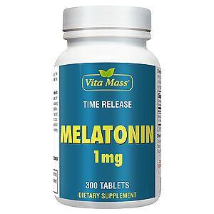 vitanatural melatonin 1 mg tr stufenweise wirksam - 300 tableten