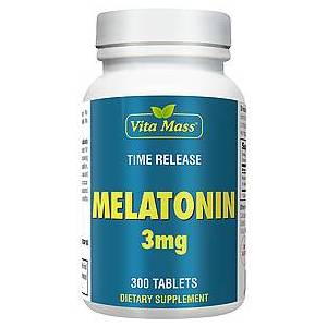 vitanatural melatonin 3 mg tr stufenweise wirksam - 300 tableten