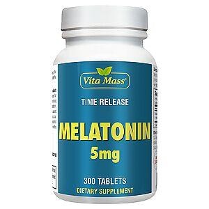 vitanatural melatonin 5 mg tr stufenweise wirksam - 300 tableten