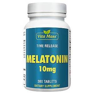 vitanatural melatonin 10 mg tr stufenweise wirksam - 300 tableten
