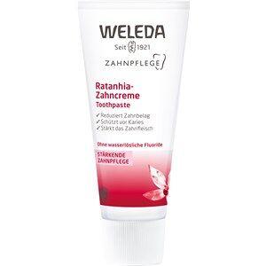 Weleda Gesichtspflege Zahn- und Mundpflege Ratanhia Zahncreme 75 ml