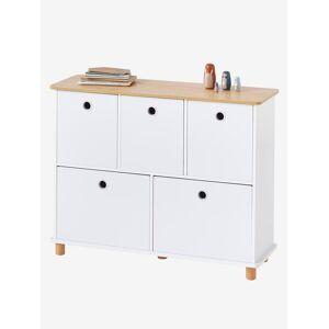 """Vertbaudet Kinderzimmer Sideboard ,,Ptilou"""", 5 Schubladen weiß/natur von vertbaudet"""