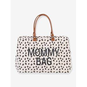 """Childhome Große Wickeltasche """"Mommy bag"""" CHILDHOME weiß leoprint"""