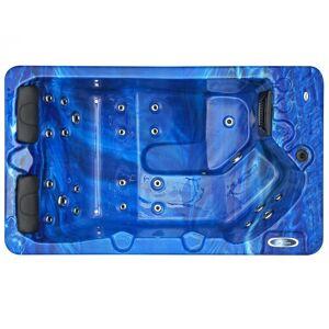 Spatec Jacuzzi Spa de exterior - SPAtec 300B azul