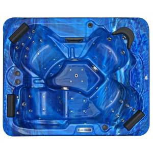 Spatec Jacuzzi Spa de exterior - SPAtec 500B azul