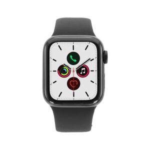 Apple Watch Series 5 acero inoxidable negro 40mm con pulsera deportiva negro (GPS + Cellular) negro - Reacondicionado: como nuevo 30 meses de