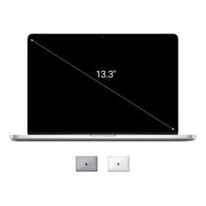 "Apple Macbook Pro 2013 13,3"" QWERTZ ALEMÁN con pantalla Retina Intel Core i7 3,00 GHz 512 GB SSD 8 GB plateado - Reacondicionado: muy bueno 30 meses"