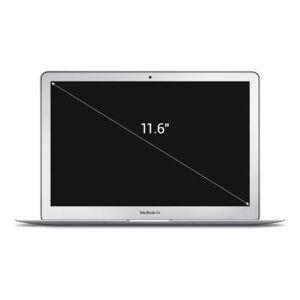 "Apple MacBook Air 2012 11,6"" QWERTZ ALEMÁN Intel Core i5 1,70 GHz 64 GB SSD 4 GB plateado - Reacondicionado: buen estado 30 meses de garantía"