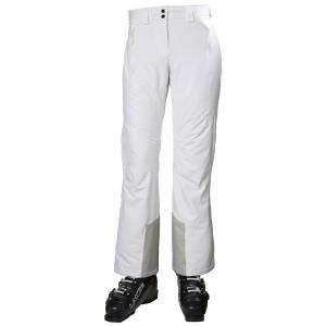 Helly Hansen mujeres Alphelia pantalon de esqui Blanco M
