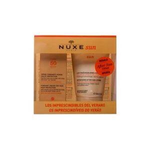 Nuxe Sun Pack Los Imprescindibles del Verano Crema Facial SPF50+ de 50ml + Aftersun de 100ml