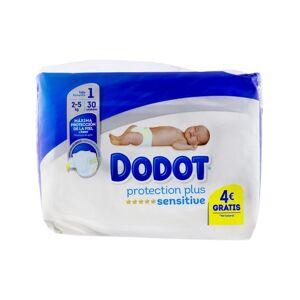 dodot Protection Plus Sensitive T1 2-5kg 30uds.