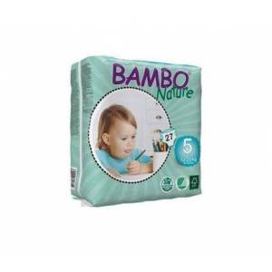 Bambo Nature pañales T-5 Junior 12-25kg 21uds