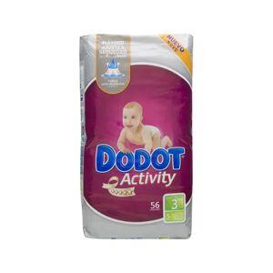 dodot Activity pañal infantil T-3 56uds