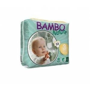 Bambo Nature pañales T-3 Midi 5-9kg 33uds
