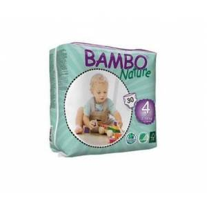 Bambo Nature pañales T-4 Maxi 7-18kg 30uds