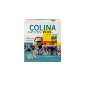 Nutrisport Colina + Té Verde 120 comprimidos