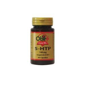 Obire Triptófano (5-HTP 100 Mg) + Magnesio + B-6 60cáps