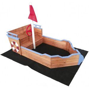 Outdoor Toys Arenero con forma de barco de madera Outdoor Toys