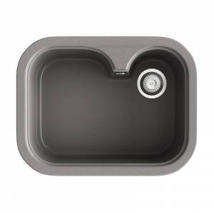 Poalgi Fregadero de 1 cuba Concret 635 x 490mm Rubi Basic Poalgi