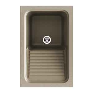 Poalgi Fregadero de 1 cuba Albero 40 x 60 cm Silex Basic Poalgi