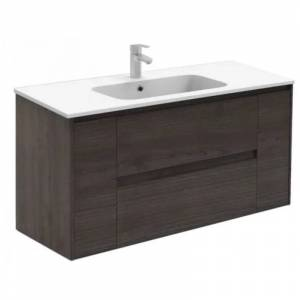 Royo® Mueble de baño con lavabo cerámico Enzo 120cm Fresno Alfa Royo