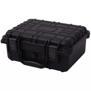 VidaXL Maletín protector de equipo negro 35x29,5x15cm Vida XL