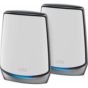 Netgear Orbi RBK850 Whole Home Tri-Band WiFi System (Pack of 2), A