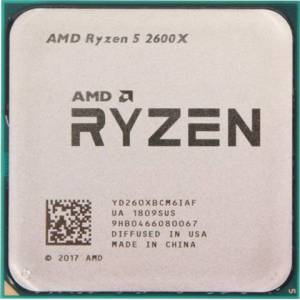 AMD Ryzen 5 2600X (3.6 GHz) AM4