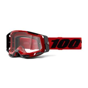 100% Gafas de Cross Racecraft 2 Rojas