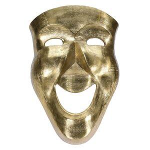 RegalosMiguel Máscara Oro Decorativa Mask de Aluminio 46 cm